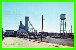 VAL D'OR, QUÉBEC - BOURLAMAQUE, LA MINE LAMAQUE MINES - CIRCULÉE EN 1968 - UNIC - - Quebec
