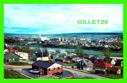 ST-GEORGES OUEST, QUÉBEC - VUE PANORAMIQUE DE LA VILLE - UNIC - CIRCULÉE EN 1965 - - Quebec