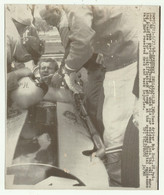 INDIANAPOLIS SPEEDWAY DRIVER BOB HURT 28 MAGGIO 1968 - CM. 19X16 - Cars