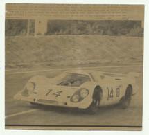 LE MANS - GERMAN MADE PORSCHE  12  GIUGNO 1969  ( VEDI DESCR. ) - CM. 18X16,5 - Cars