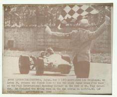 APPHO LONDON - GOTEMBA - JAPAN MAY 3 1969 AUSTRALIAN LEO GEOGHEGAN ON LOTUS 39 ( VEDI DESCR. ) - CM. 22X18 - Cars
