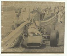 WEST ALLIS , WIS THE CAR DRIVEN BY AL LOQUASTO 9 GIUGNO 1969  ( VEDI DESCR. ) - CM. 19,5X16 - Cars