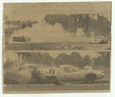 SEBRING - THE HAZARDS OF THE GREEN PARK CHICANE  23 MARZO  1969  ( VEDI DESCR. ) - CM. 19,5X16 - Cars