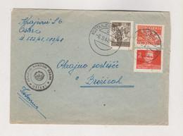 YUGOSLAVIA 1948 KOSTANJEVICA NA KRKI Nice Cover - Covers & Documents
