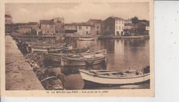 83 LE BRUSC  -  Vue Prise De La Jetée  - - Frankreich