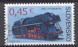 Slovaquie 2015   Mi.nr.: 762   Dampflokomotiven  Oblitérés / Used / Gestempeld - Slovakia