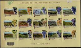2015 Italy Made In Italy Italian DOCG Wine Issue II S.adh. MNH See Description MiNr. 3837 - 3851 Asti Gavi Dolcetto - 2011-20:  Nuevos