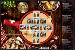 2018 Switzerland - Fondue - Sheetlet With Recepies - MNH** (gg18) - Nuevos