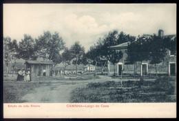Postal Antigo RECORDAÇAO De CAMINHA Largo Do Caes. Old Postcard (Viana Do Castelo) PORTUGAL 1900s - Viana Do Castelo
