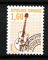 Préo  213a - 1F60 Guitare - Dentelé 12 - Neuf N** - Très Beau - Precancels