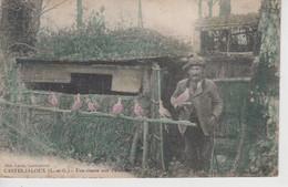 CPA Casteljaloux - Une Chasse Aux Palombes (très Jolie Scène) - Casteljaloux
