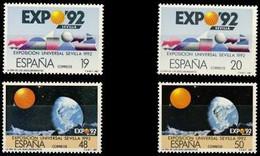 España 1987 Edifil 2875/76A Sellos ** Exposición Universal Sevilla EXPO'92 Año De Los Descubrimientos Michel 2758-9-2808 - 1931-Aujourd'hui: II. République - ....Juan Carlos I