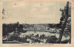 AUDIERNE  - Le Port Vu Du Parc De LOQUERAN ( Edts J . Nozais ) - Audierne