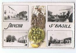 06 - SAINT BASILE - Multivues, Souvenir, Message Parfumé Agraffé - 1611 - Andere Gemeenten
