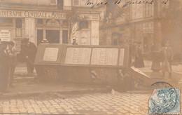 ANGERS - Carte Photo Du Cyclone Du 4 Juillet 1905 - Boulevard De Saumur ( Kiosque Renversé ) - Angers