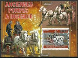 Togo 2010 Mi Bl 551 MNH ( ZS5 TGObl551dav2C ) - Pompieri