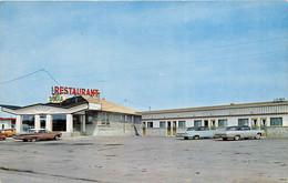Laurier Station Quebec Canada 1960s Postcard Motel Et Restaurant Diana - Quebec