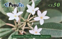 *NICARAGUA* - Scheda A Chip Usata - Nicaragua