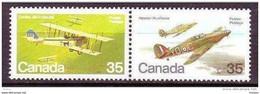 Canada, 1980, #876, Avions Militaires, Avion, Military Planes, Plane, - Aerei