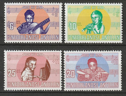 Netherlands Antilles 1969 Sc B97-100  Set MNH - Curaçao, Nederlandse Antillen, Aruba