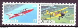 Canada, 1981, #904, Avions, Avion, Plane, Planes - Aerei