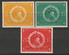 Netherlands Antilles 1957 Sc B28-30  Set MNH - Curaçao, Nederlandse Antillen, Aruba