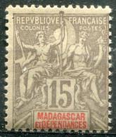 MADAGASCAR - Y&T  N° 44 ** - Madagaskar (1889-1960)