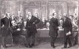 ROMANIA / BUCURESTI : CONFERINTA BALCANICA 1913 / BALKAN CONFERENCE After THE SECOND BALKAN WAR / MURNU - 1913 (af422) - Otras Guerras