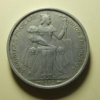 New Caledonia 5 Francs 1952 - Nuova Caledonia