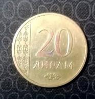 Tajikistan 20 Dirams, 2015 VF - Tajikistan