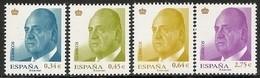 2010-ED. 4537 A 4540 - REY JUAN CARLOS I -BÁSICA CORONA DORADA-NUEVO - 2001-10 Neufs