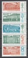 USSR 1986 Sol# 5792-96** PALACE MUSEUMS IN LENINGRAD - Ongebruikt
