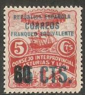 LOTE 2112  //  (C060) ASTURIAS Y LEON  - EDIFIL Nº:10 *MH - Asturias & Leon