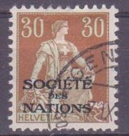 Schweiz Dienstmarke SDN: Zumstein-Nr. 6 (Helvetia Mit Schwert, 1922) Gestempelt - Servizio