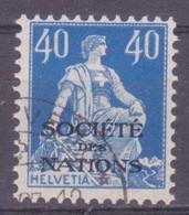 Schweiz Dienstmarke SDN: Zumstein-Nr. 8 (Helvetia Mit Schwert, 1922) Gestempelt - Servizio