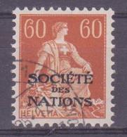 Schweiz Dienstmarke SDN: Zumstein-Nr. 10 (Helvetia Mit Schwert, 1922) Gestempelt - Servizio