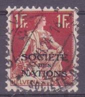 Schweiz Dienstmarke SDN: Zumstein-Nr. 12 (Helvetia Mit Schwert, 1922) Gestempelt - Servizio