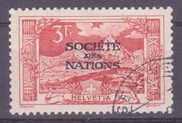 Schweiz Dienstmarke SDN: Zumstein-Nr. 13 (Landschaften, 1922) Gestempelt - Servizio
