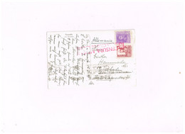 Censura Militar Santa Cruz De Tenerife Sur Carte Postale Expédiée à Wiesbaden (Allemagne) - 1931-50 Lettres