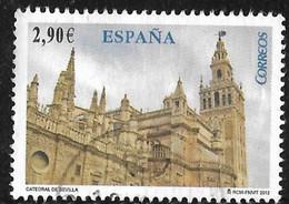 LOTE 2112 //  (C140)  ESPAÑA 2012 - CATEDRAL DE SEVILLA - 2011-... Used