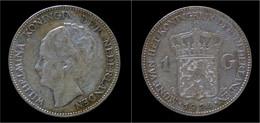 Netherlands Wilhelmina I 1 Gulden 1924 - 1 Gulden