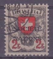 Schweiz Dienstmarke SDN: Zumstein-Nr. 26 (Wappen, 1922-1925) Gestempelt - Servizio