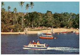 (O 18) (older Postcard) Fiji - Oolooloo In Suva (tourist Ship) - Ferries