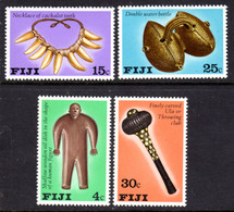 FIJI - 1978 ARTIFACTS SET (4V) FINE MNH ** SG 556-559 - Fiji (1970-...)
