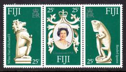 FIJI - 1978 CORONATION ANNIVERSARY SET (3V) FINE MNH ** SG 549-551 - Fiji (1970-...)