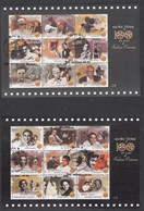INDIA, 2013, FIRST DAY MUMBAI CANCELLED, 100 Years Of Indian Cinema, Complete Set Of 6 Souvenir Sheets, - Cinema