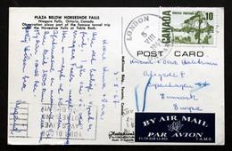 Canada 1967 Cards To Denmark  London 5-8-1967 Ontario ( Lot 358 ) - Brieven En Documenten