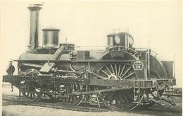 Thème Train Machine 19 Locomotives Du  PLM CP Ed. H.M.P. N°565 Locomotive Vapeur - Trains