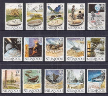 Tonga Niuafo'ou 1989 Caveman - Coelcanth - Dinosaur - Early Bird - Specimen Set Of 15 - Stamps