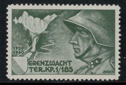Suisse /Schweiz/Switzerland // Vignette Militaire // Troupe Territoriale, Ter.Kp.I/185 - Poste Militaire